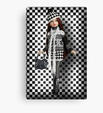 I'M JUST CHECKIN HIM OUT LOL,CHECK CHECK >CHECK IT OUT>> DOLL PICTURE AND OR CARD Canvas Print