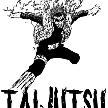 TaiJutsu Gai sensei by Bukeater