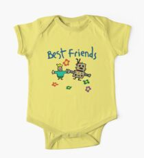 Butters + Awesom-O = Best Friends  One Piece - Short Sleeve