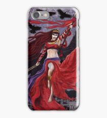 Celtic Goddess - The Morrigan iPhone Case/Skin