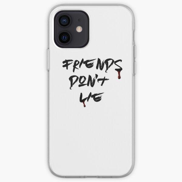 Les amis ne mentent pas (onze choses étranges) Coque souple iPhone
