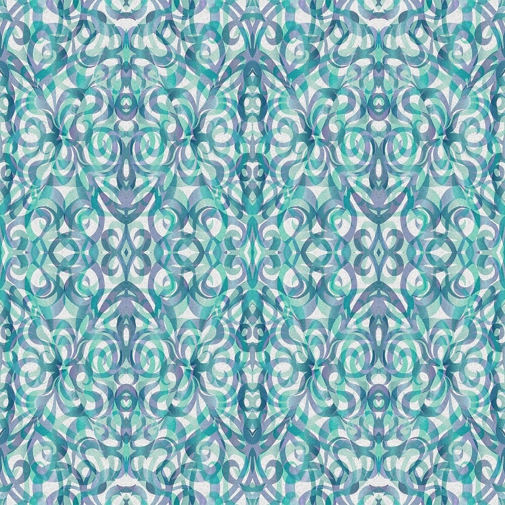 Floral Abstract Pattern G27 by MEDUSA GraphicART