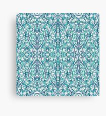 Floral Abstract Pattern G27 Canvas Print