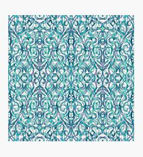 Floral Abstract Pattern G27 Photographic Print