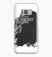 Night Gathers Samsung Galaxy Case/Skin