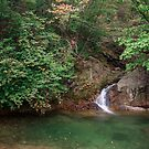 Waterfall in Gwangdeok-ri, Gangwon Province by koreanrooftop