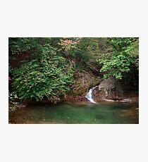 Waterfall in Gwangdeok-ri, Gangwon Province Photographic Print