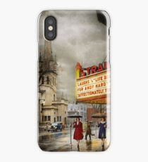 City - Amsterdam NY - Life begins 1941 iPhone Case/Skin