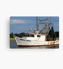 Hurricane Shrimper Canvas Print