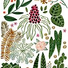 Some plants by Roxanne Bee