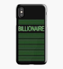 BILLIONAIRE iPhone Case/Skin