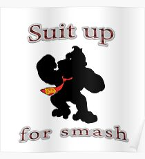 Suit up Smash Poster