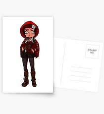 Cerise Hood Postcards