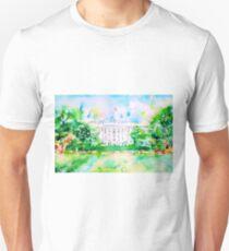 WHITE HOUSE - watercolor portrait Unisex T-Shirt
