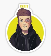 Christoffer (Chris) Schistad from SKAM Sticker