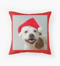 Sumi-e Christmas cushion Throw Pillow