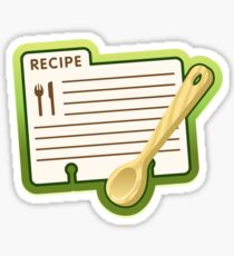 recipe Sticker