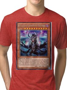 Blue Eyes Darkness Dragon Tri-blend T-Shirt
