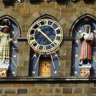 Castle Clock by Alexandra Lavizzari