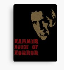 Hammer House of Horror Canvas Print