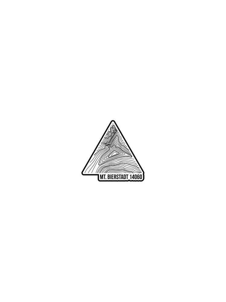 Mt. Bierstadt Topo Update Schwarz von januarybegan