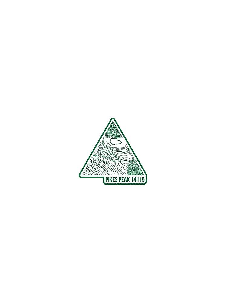 Pikes Peak Topo Update Grün von januarybegan