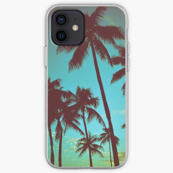 Vintage Tropical Palms iPhone Soft Case
