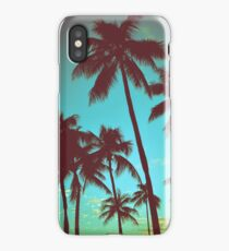 Vintage Tropical Palms iPhone Case