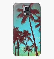 Vintage Tropical Palms Case/Skin for Samsung Galaxy