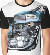 A TRIUMPH TRIDENT Graphic T-Shirt
