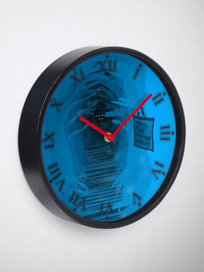 Alternative Ansicht von Was ist die Zeit, Herr Wolf? Uhr