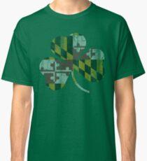 734b3c0bd Irish Flag of Maryland Shamrock Classic T-Shirt