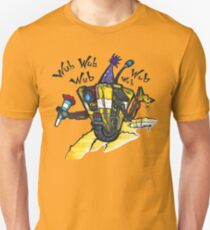 Ain't no party like a robot party! Unisex T-Shirt