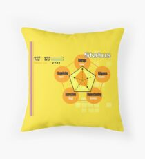Persona 4 Status sheet Throw Pillow