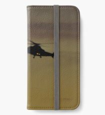 helicopter  iPhone Wallet/Case/Skin