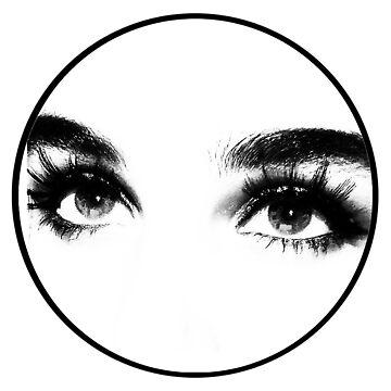 eyes logo circle by bournemonkey