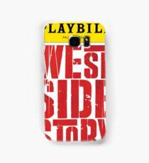 West Side Story Playbill Samsung Galaxy Case/Skin