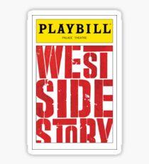 West Side Story Playbill Sticker