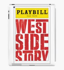 West Side Story Playbill iPad Case/Skin