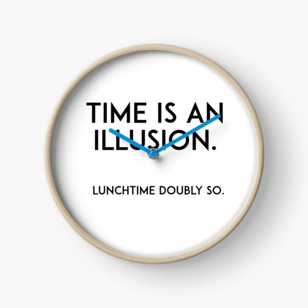 El tiempo es una ilusión Reloj