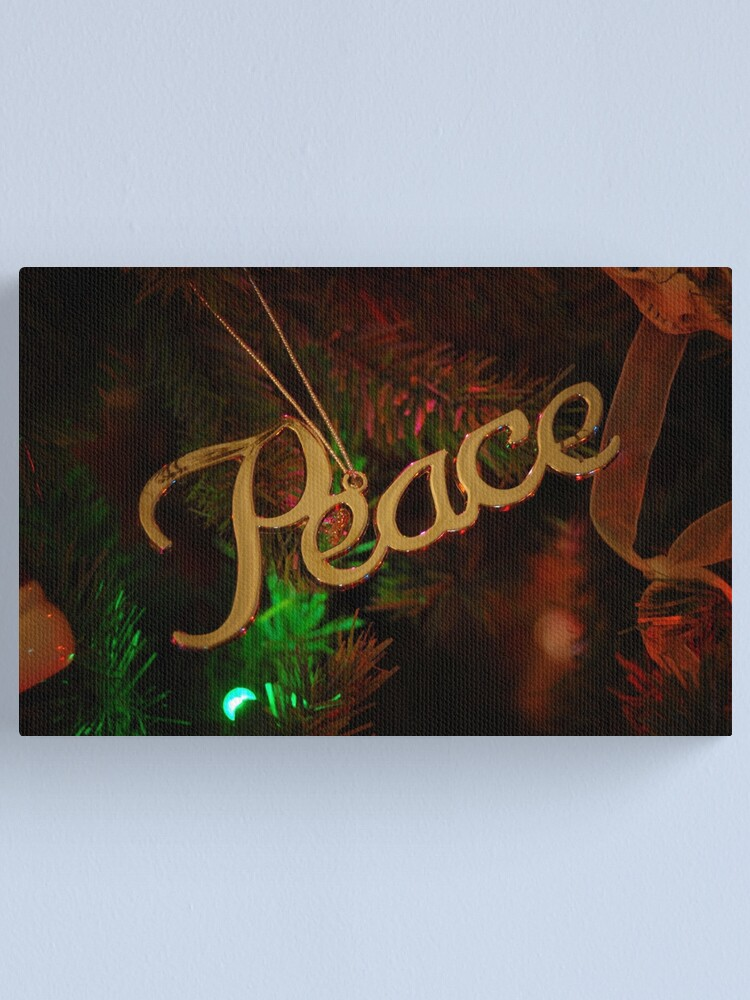 Alternate view of Peace Canvas Print