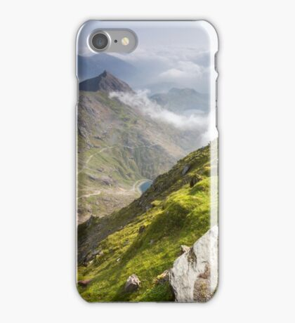 Wales - View from Snowdon iPhone Case/Skin