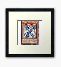Blue Eyes Shining Dragon Framed Print