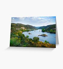Tagus River Landscape Greeting Card