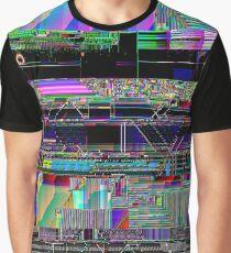 Glitch art Graphic T-Shirt