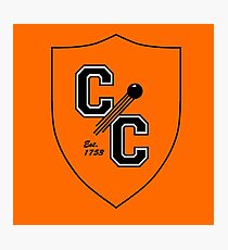 Chudley Cannons Logo Photographic Print