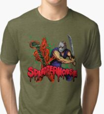 SplatterHouse Tri-blend T-Shirt