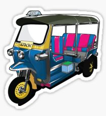 Tuk Tuk Sticker