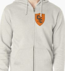 Chudley Cannons Logo Zipped Hoodie