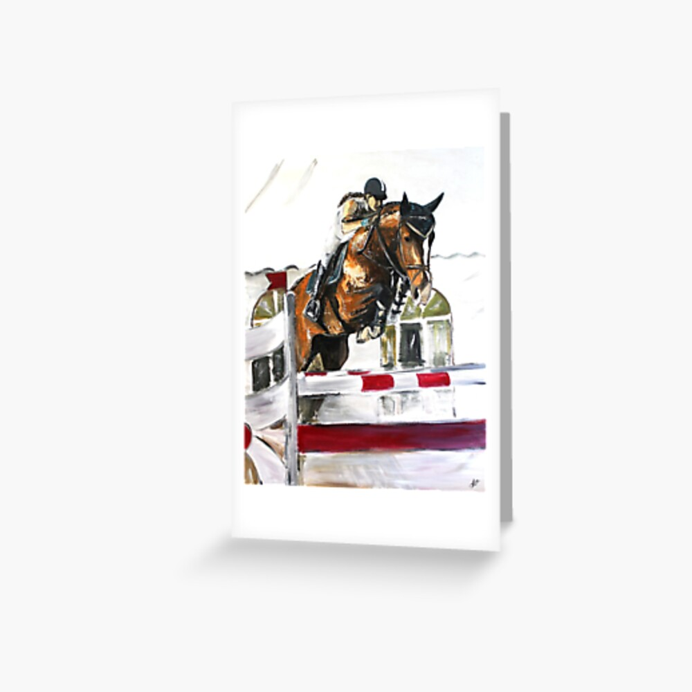 """""""Seven"""" Greeting Card"""